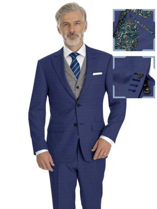 Royal Blue Solid Nailhead