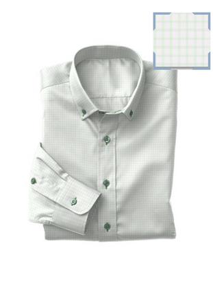 Green Twill Check