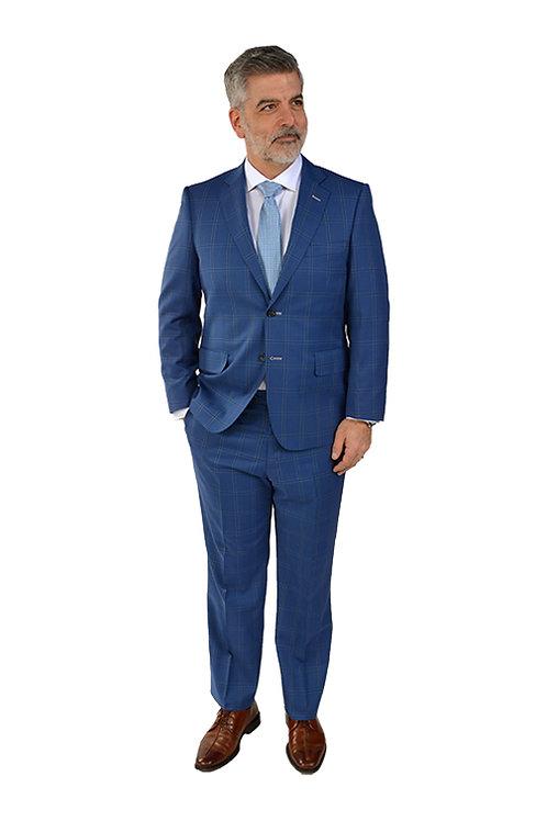 Blue Italian Suit