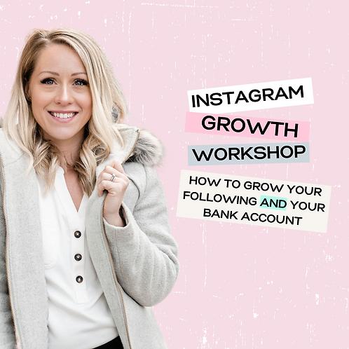 Instagram Growth Workshop
