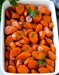 Ginger Roasted Carrots