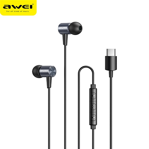 AWEI TC-2 Explosive Bass Wired In-Ear Earphones