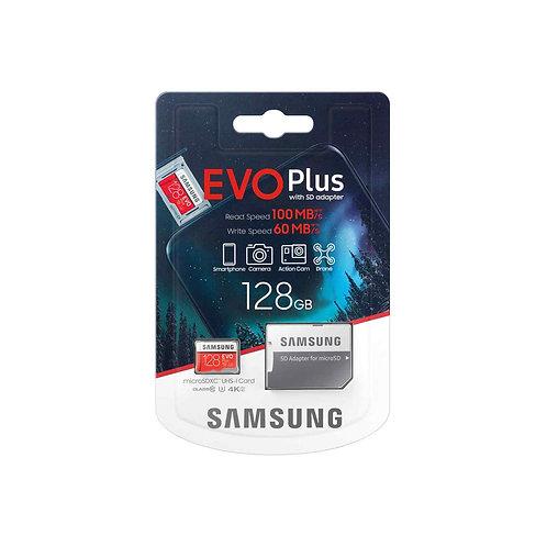 Samsung Evo Plus 100MB/s 128GB Mirco SD Card