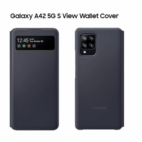 Samsung Original Galaxy A42 5G S View Wallet Cover