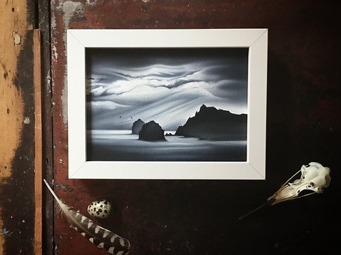'Postcard from the Edge, St Kilda' Oil Painting