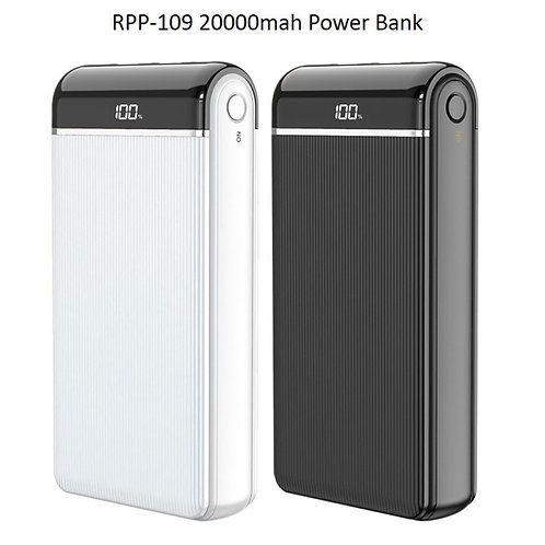 Remax RPP-109 20000mAh High Speed Charging Powerbank with Digital Display