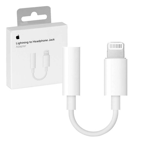 Apple Original Lightning to 3.5mm Headphone Jack Adapter