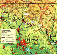 300 km Harzrundweg Radweg