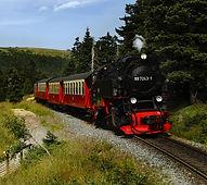 Schmalspurbahn mit 140 km Streckennetz