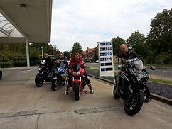 Motorrad fahren, Haus Maisonette am Harz, Urlaub in Thüringen, Deutschland