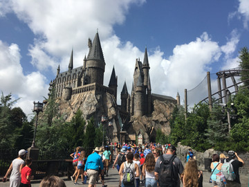 The Wizarding World of Harry Potter at Universal Studios, Orlando Fl.