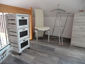 2. Schlafzimmer, Haus Maisonette am Harz, Urlaub in Thüringen, Deutschland