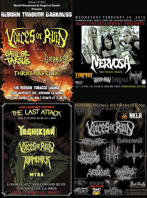 First new shows of 2016 announced