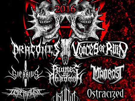 Ruinfest 2016 Announced!!!