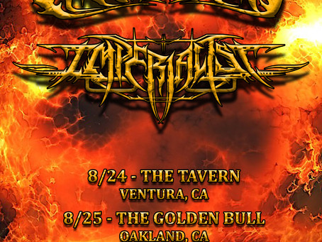 West Coast Mini-Tour with Imperialist!!!