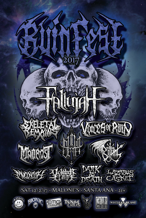 Final Lineup for Ruinfest 2017 Announced