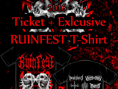 Ruinfest Ticket Packages Available