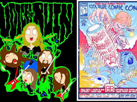 Voices of Ruin invades Comic Con!!!!