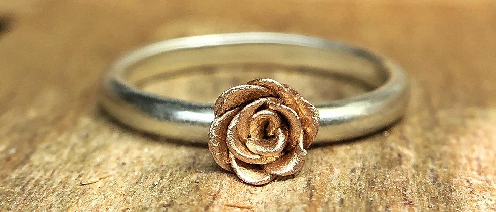Rustic Rose Ring