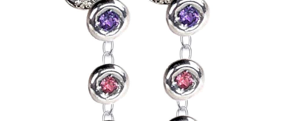 Candy Three Drop Earring