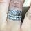 Thumbnail: Aquamarine Crown Ring