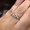 Thumbnail: Trilogy Aquamarine and Opal Ring