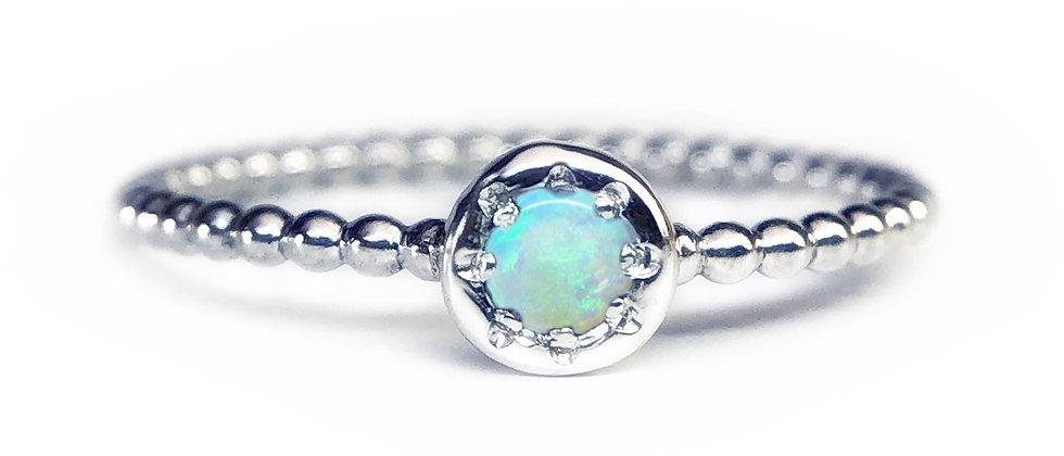 Star Opal Bubble Ring