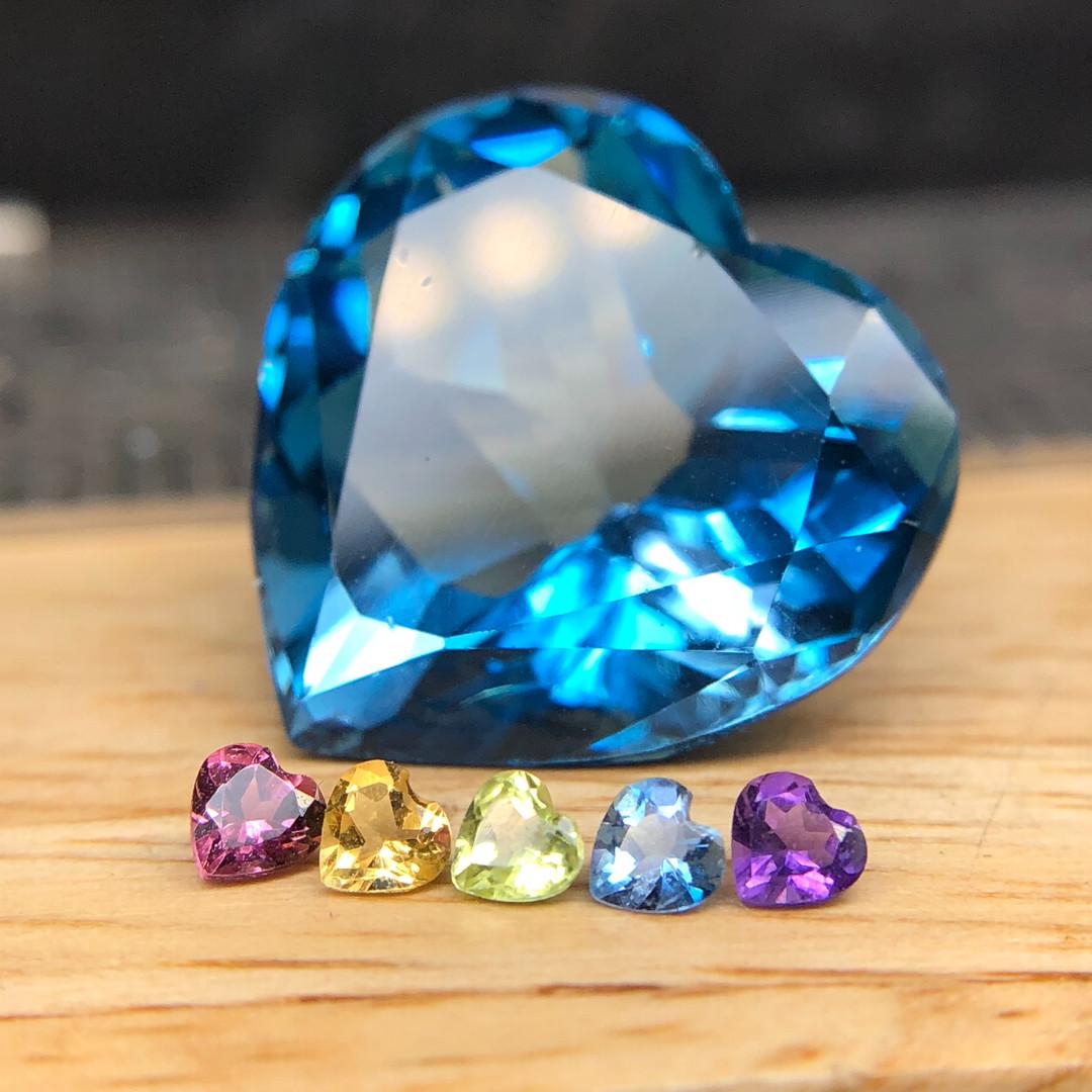 Heart Gemstones