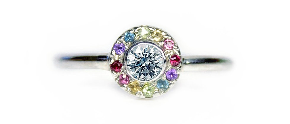 Diamond Fiesta Ring