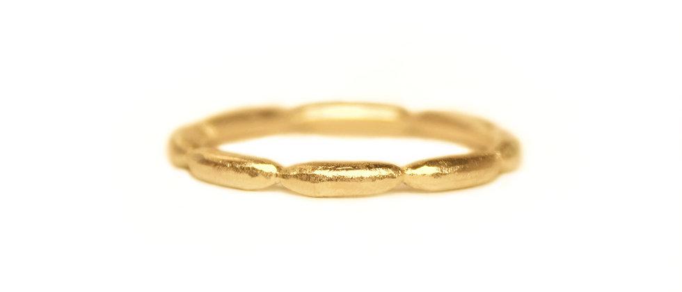 Golden Sausage Ring