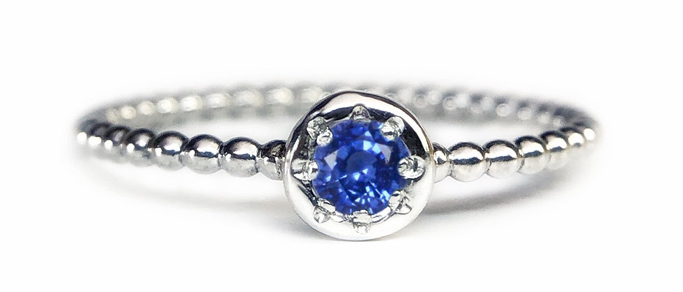 Star Sapphire Bubble Ring