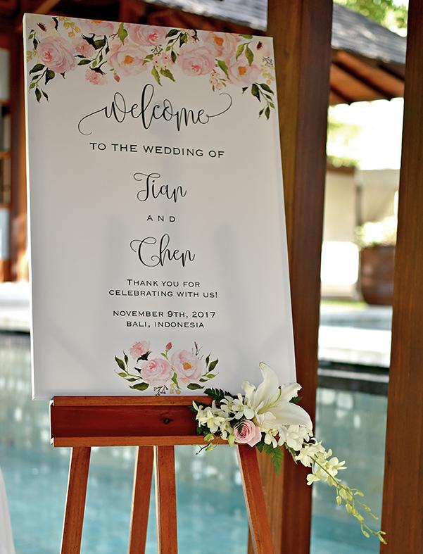 welcome board decor