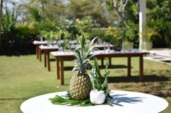 pineapple wedding bali