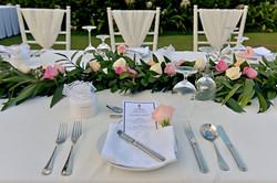 wedding dinner decor bali