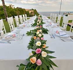 wedding roses bali