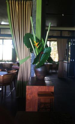 restaurant decoration in Bali