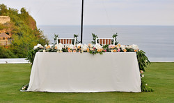 beach front wedding bali