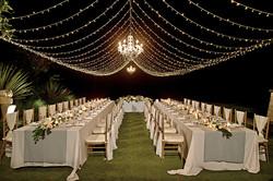 fairy light tent in Bali