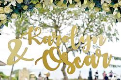 gold wedding in Bali