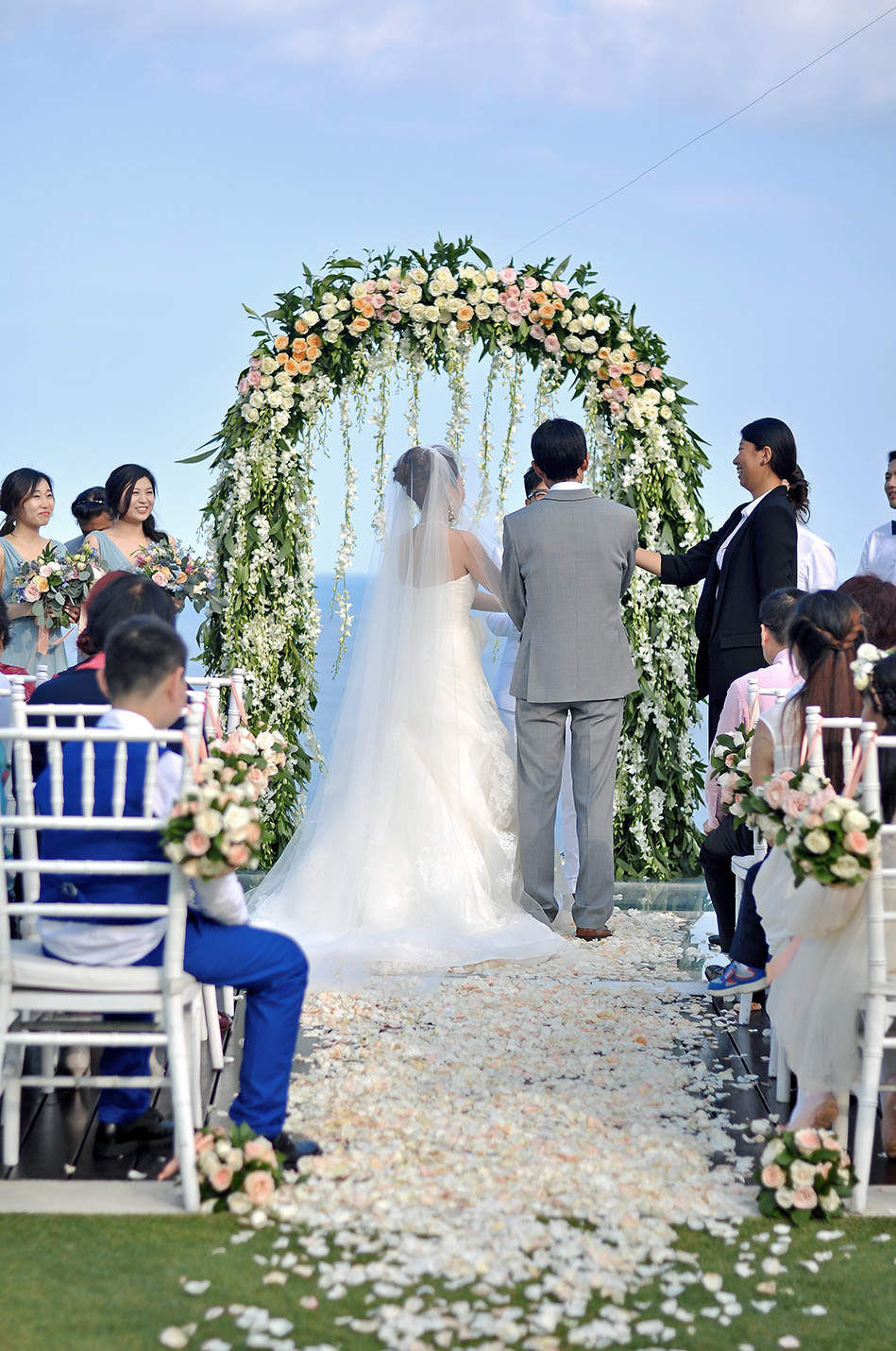 wedding ceremony decoration bali