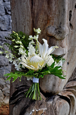 protea bridal bouquet