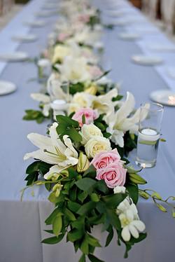 white-pink wedding in Bali