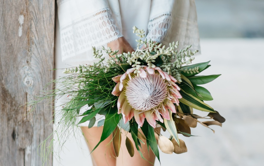 protea bouquet bali