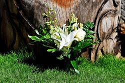 tropical bridesmaid's boquet