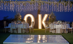 wedding decor lighting