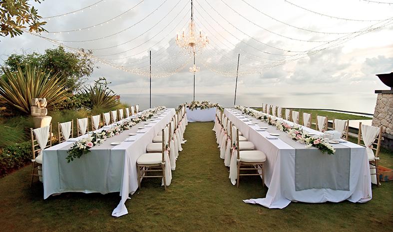 wedding table arrangment