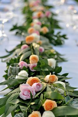 wedding dinner decoration bali