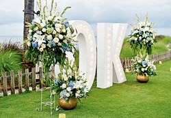 wedding reception in Ayana