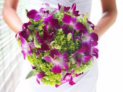 bridesmaid's bouquet bali