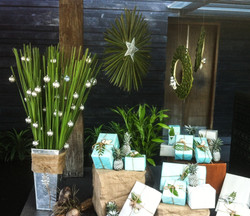 tropical Christmas decoration